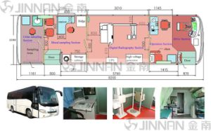 Medical Treatment Bus (9.2M) Euro 3 - Mobile Clinic