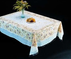 All-in-One Super Clear Vinyl Table Linen