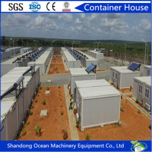 Easily Movable Fast Assbly Modular Container House Office Container of Sectional Steel Frame and Sandwich Panels pictures & photos
