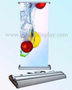 Double Sided Scrolling Roll up Screen Banner Stand (SR-03) pictures & photos