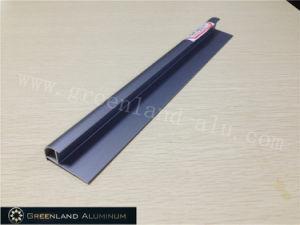 Aluminium Radius Tile Trim in Anodised Matt Sapphire-Blued Color pictures & photos
