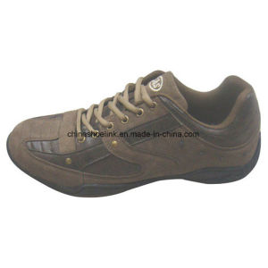 Fashion Man′s Leather Casual&Leisure Shoe pictures & photos