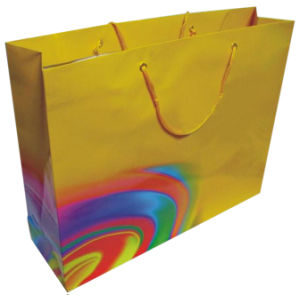High Quality Attractrictive Foldable Paper Bag (YY-B0317) pictures & photos