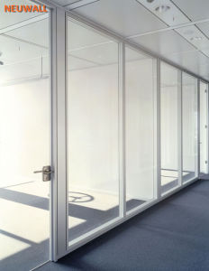 Glass Partition Walls/Aluminum Framed/Neuwall pictures & photos