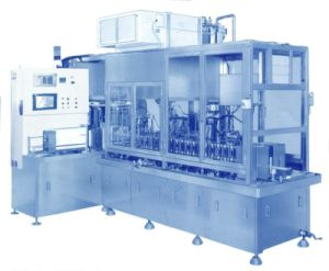 Gable-Top Paper Carton Filling Machine (RM-110) pictures & photos