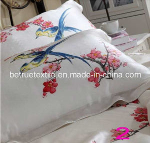 100% Silk Hand-Made Painted Titoni Bedding Set (SBHP001)