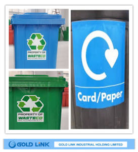 Self Adhesive Colored PVC Sticker Film (P6303-R Y BL GR) pictures & photos