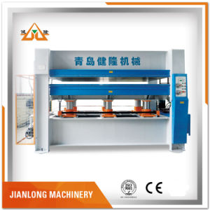 Hydraulic 160t 3 Layers Hot Press Machine for Veneer pictures & photos