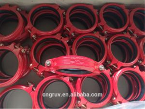 168.3 Grooved Rigid Coupling, Grooved Coupling, Grooved Fitting pictures & photos