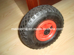 Maxtop Factory Wheelbarrow Wheel with Plastic Rim pictures & photos