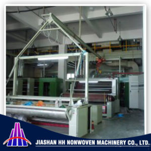 2.4m PP Spunbond Nonwoven Fabric Slitting/Cutting Machine pictures & photos