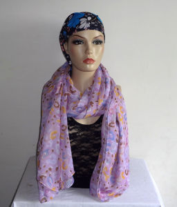 Trendy Printed Scarf for Women (Ants---304)