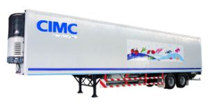 Cimc Refrigerator Container Semi Trailer Truck Chassis pictures & photos