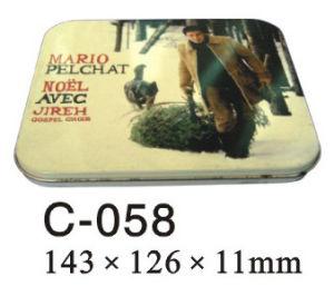 Rectangular Tin CD Case
