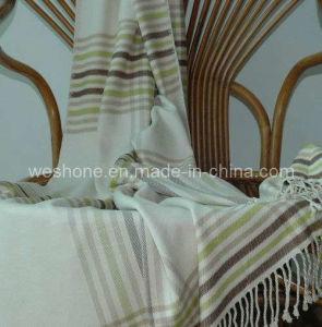 Bamboo Throw, Bamboo Blanket, Bamboo Fiber Throw Bt-09032s pictures & photos