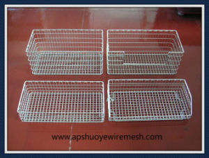 Plastic Coated Stainless Steel Wire Basket for Shopping pictures & photos