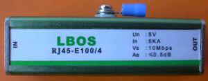 Ethernet Line Surge Arrester (RJ45-E100/4 RJ45-E100/8 RJ45-E1000)