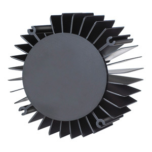 Customized Aluminum Heat Sink with Powder Coated Surface pictures & photos