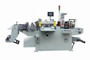 Automatic Roll Adhesive Label Hot Foil Stamping Machine pictures & photos