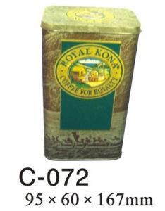 Rectangular Tea Caddy (C-072)