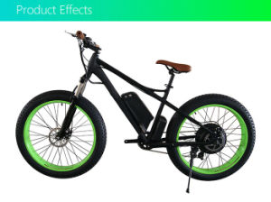 Cheap 48V Brushless Motor Electric Bike Conversion Kits for Fat Tire Bicycle pictures & photos