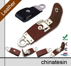 4GB Leather USB Flash 002