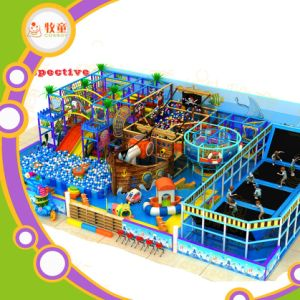 Easy Assembly Indoor Game Park Mcdonalds Indoor Playground for Children pictures & photos