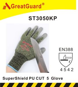 Greatguard Thinner Finish Supershield Cut 5 Glove (ST3050KP) pictures & photos