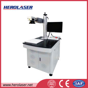 Best Quality 1mm Stainless Steel Deep Engraving Fiber Laser Marking Machine for Sale pictures & photos