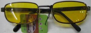 Night Vision Glasses with Yellow Lenses