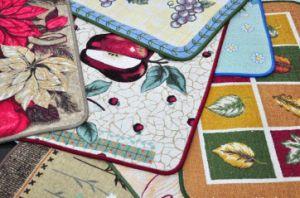 Cotton Printed Anti-Slip Door Mat/Rugs #8, Super Water Absorbing pictures & photos