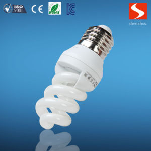 Full Spiral 9W Energy Saving Bulbs, Compact Fluorescent Lamp CFL pictures & photos