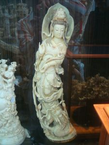Antique Ivory Sculpture -3