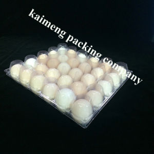 China Diaposable PVC Plastic Chicken Egg Trays for Promotional Package pictures & photos