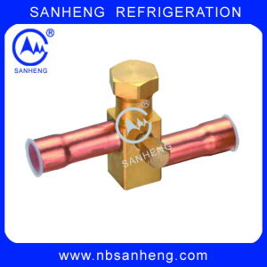 Copper 3 Way Service Valves (SSV-03) pictures & photos