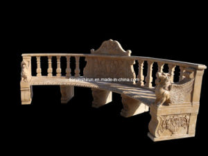 Stone Carving Garden Bench (BNH323) pictures & photos