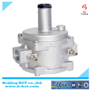 High pressure regulator with aluminum body inlet 0.5-10 bar outlet 0-2bar 0-6kg/H BCT-HPR-01 pictures & photos