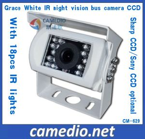Grace White Night Vsion Waterproof Sharp Sony CCD Bus Camera pictures & photos