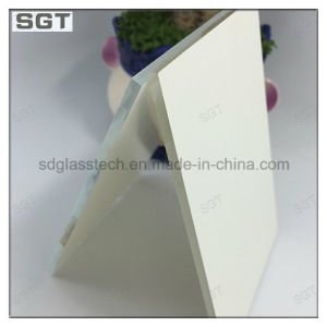3mm 4mm 5mm Low Iron White Painted Glass for Splashbacks pictures & photos
