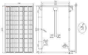 30V 250W Black Mono Solar Panel pictures & photos