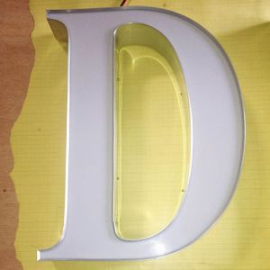 Super Bright Whole Lit LED Acrylic Channel Letter for Shop Sign Billboard Desplay pictures & photos
