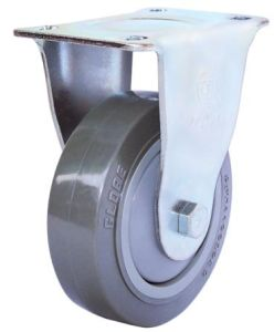 Fixed PU Caster (Gray)(Flat Surface) (3304344) pictures & photos