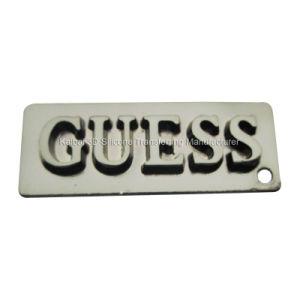 Matt Gray Anti-Brass Nameplate for Pants, Jeans, Handbags, Purse, Dress