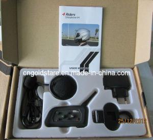 Wireless Motorcycle Helmet Ski Bluetooth Stereo Headset Intercom Interphone pictures & photos