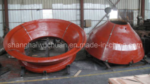 High Manganese Cone Crusher Parts for Faco Crusher pictures & photos