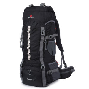 80L Mountain Gear Mochila Camping Rucksack Backpack Wtih Shoe Storage pictures & photos