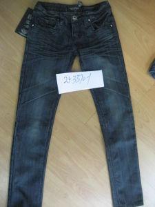 Ladies Denim Jeans (21-3370-1)