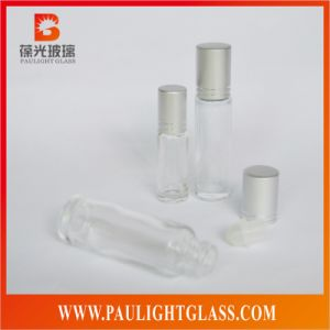 Electroplating Roll Ball Perfume Glass Bottle Cosmetic Packaging (RB-0654)