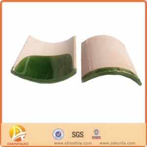 Traditional Green Glazed Roof Tile (SF013)