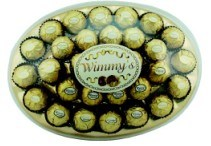 30 Pieces Golden Egg Box Chocolate (E30G)